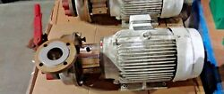 Sterling Electric Eho202fha Motor 20hp 3ph W/ Tri-clover