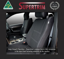 Front And Rear Seat Covers Fit Jeep Grand Cherokee Srt Waterproof Premium Neoprene
