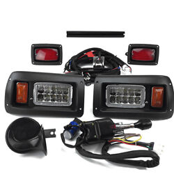 Club Car Ds Golf Cart Deluxe Street Legal All Led Light Kit 1982-up