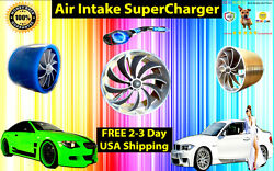 Chevy Air Intake Ss Supercharger Turbo Performance Fan Free Usa Shipping