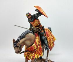 English Horseman Knight Top Quality 54mm Cavalry Tin Soldier