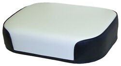 Amss7314 Seat Cushion Black And White Vinyl For Oliver 770 880 990 ++ Tractors