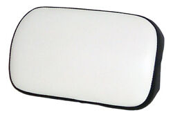Small Backrest Cushion Black And White Vinyl For Oliver 1255 1355 ++ Tractors