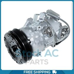 New A/c Compressor For Toyota Yaris 1.5l - 2007 To 2012 - Oe 883105248
