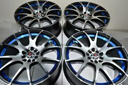 18 Wheels Civic BRZ FRS Prelude Sonata Optima Forester Avalon 5x100 5x114.3 Rims