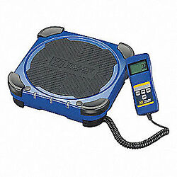 YELLOW JACKET Refrigerant Charging Scale220 lb. 68862