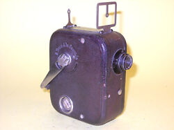 Pathé Baby - Antique 9,5mm Movie Camera In Extremely Good Condition