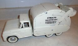 1950s-60s Structo Truck Sanitation Dept. Hydraulic Operated Working Condition