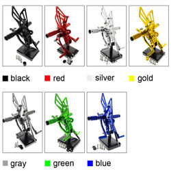For Gsx1300r Hayabusa 1999-15 Racing Footpegs Footrest Rearsets Adjusting