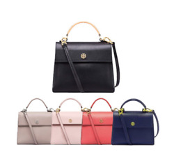 TORY BURCH Parker Small Satchel Bag for Woman with Free Gift