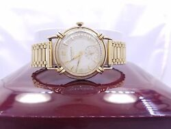 Vintage Longines Ke 14kt Yellow Gold Menand039s Watch