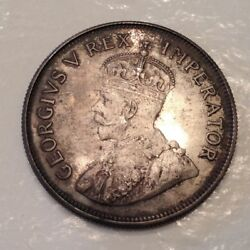 - 1923 Union Of South Africa George V Half 1/2 Crown Proof Only 1402 Minted