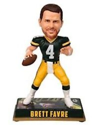 Green Bay Packers Brett Favre 4 Player Bobble Head Forever Collectibles