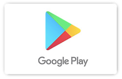 Google Play Gift Code $25 $50 or $100 email delivery