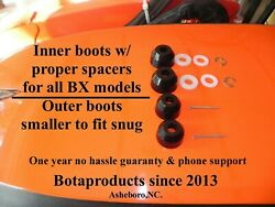 Kubota Bx And Gr Poly Inner Outer Tie Rod Boot Upgrade All Models 1 Yr Warranty