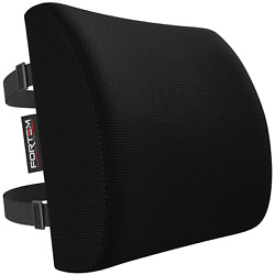 FORTEM Office Chair Lumbar Support Pillow Back Cushion Memory Foam Washable $12.99