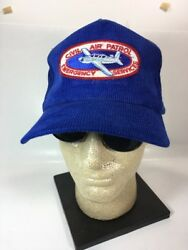CIVIL AIR PATROL EMERGENCY SERVICES Patch Embroidered  Corduroy Baseball Cap Hat