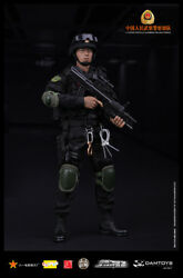 Chinese People's Armed Police Force Elite 16 Figure/figurine Dam Toys 78017