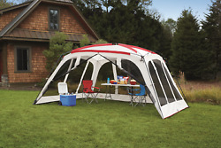 14 x 12 Screen House Canopy Shade Tent Backyard BBQ Beach Shelter Carry Bag NEW