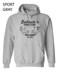 224 Satriale's Hoodie New Funny Ganster Mob Slaughter House Butcher Cool Show