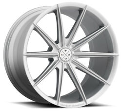 19andrdquo Blaque Diamond Bd-11 Silver Wheels For Mercedes W218 Cls400 Cls550