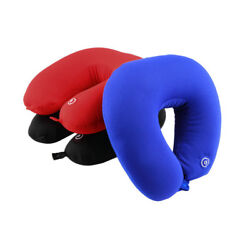 U Shaped Neck Pillow Rest Neck Massage Bedding Battery Operated Head Rest New