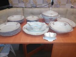 Unused Original Porcelain Bernadotte Ivory For 6 Persons Of 1970 Year