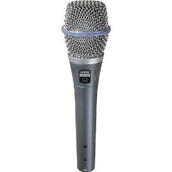 SHURE BETA 87A Supercardioid Condenser Handheld Microphone for Vocal - #1 RATED