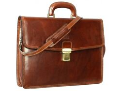 Laptop Lawyer Womens Briefcase Attache Case Mens Messenger Bag Leather  Wallet