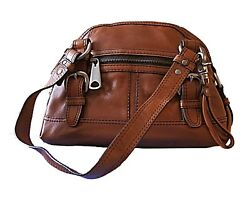 Elegant sporty trendy Leather Bags FOSSIL