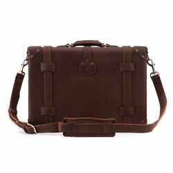 Attache Lawyer Womens Mens Messenger Bag Leather Briefcase Laptop Case Catalog