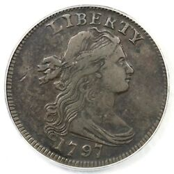 1797 S-120b R-2 Pcgs Vf 20 Rev Of And03996 Draped Bust Large Cent Coin 1c