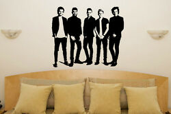 One Direction 1d 2015 Children's Bedroom Room Decal Wall Art Sticker Picture Fan