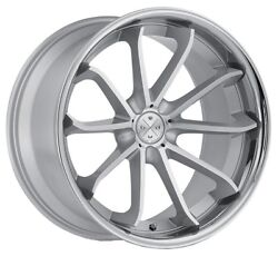 20andrdquo Blaque Diamond Bd-23 Silver Machined Wheels For Chrysler 300 Awd