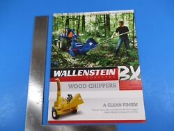 Wallenstein Forestry Bx Wood Chippers A Clean Finish Insert M2628