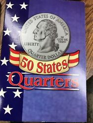 50 Fifty State Commemorative Quarters 1999-2008 Collection Book