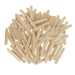 Wooden Craft Popsicle Sticks Natural 2-1/2-inch 120-piece