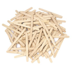 Wooden Craft Popsicle Sticks Natural 4-1/2-inch 100-piece