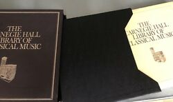 CARNEGIE HALL LIBRARY OF CLASSICAL MUSIC  RECORDS BRAND 20 Books 100 LP's