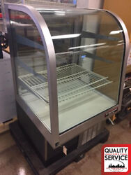 Federal Cg3150sc-2 31 Curved Glass Commercial Refrigerated Display Case