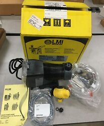 New In Box Lmi Milton Roy Electronically Controlled Metering Pump Ad861-948si