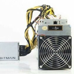 NEW  Antminer L3+ 504 Mh LTC Miner + PSU+POWER CABLE IN-HAND SHIPS IN 24 hours.