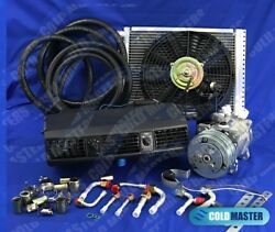 Universal Underdash Air Conditioning Kit 202 12x16 Condenser W/ Electric Harness