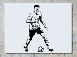 Dele Alli English England Footballer Soccer Player Wall Decal Sticker Picture