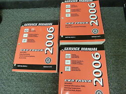 2006 Chevy Avalanche Pickup Truck Shop Service Repair Manual 2500 LS LT Z66 Z71