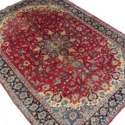 9x12 Semi-antique Hand Knotted Persian Isfahan Room Size Rug