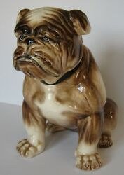 English Bulldog Porcelain Statue Figure Figurine Approximately 9.5