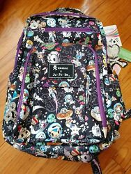 NWT Jujube Tokidoki Space Place SP Be Right Back BRB Backpack Diaper Bag Purple