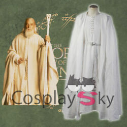 The Lord Of The Rings Gandalf Robe Halloween Costume Cosplay Clothing Custome