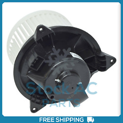 New A/c Blower Motor For Ford Focus Transit Connect / Jaguar X-type - Oe Mm872